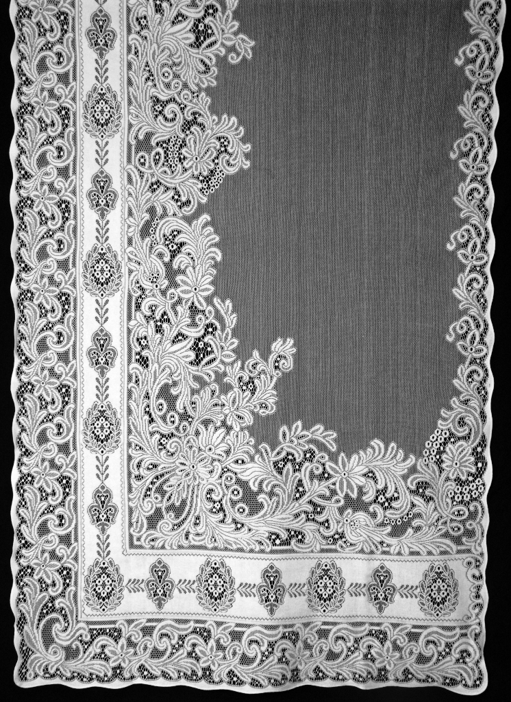 sibelia lace curtain right panel