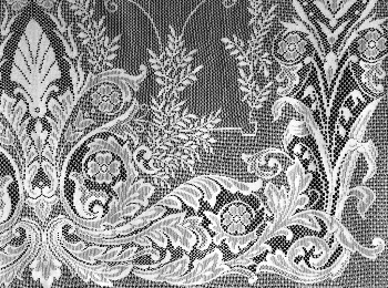 JR Burrows Company Lace Curtains
