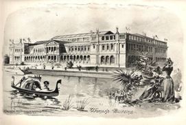 Women's Building, Columbian Exposition - 1893